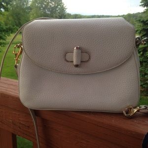 Gucci Bags - Authentic Gucci White Vintage Leather Bag